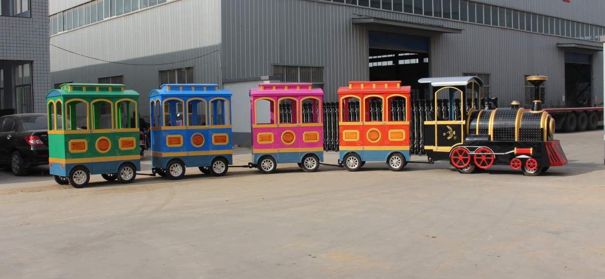buy trackless train ride for sale in China