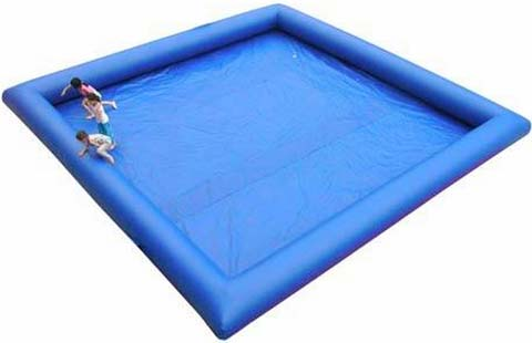 inflatable slide and pool