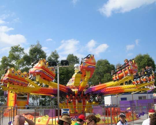 family park techno jump ride