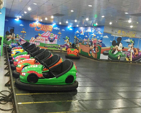 Floor Net Electric indoor Bumper Cars