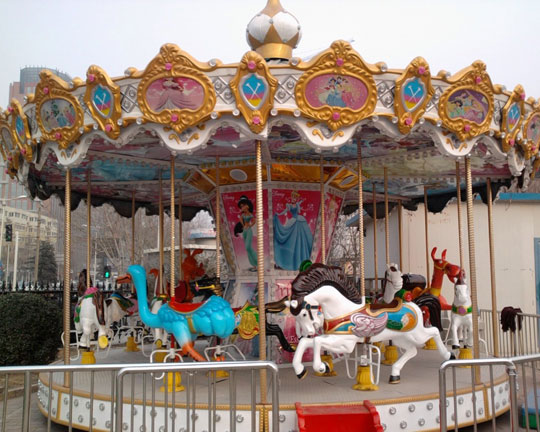 theme park grand carousel ride for sale