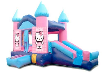 Buy Hello Kitty Pink Inflatable Bouncy Castle for Sale from Beston