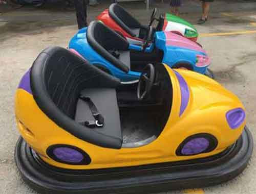 Amusement Park Bumper Car Rides