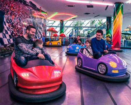 Bumper Cars for Amusement Parks