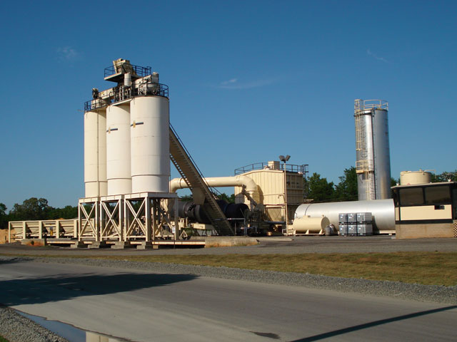 asphalt mix plant with large capacity