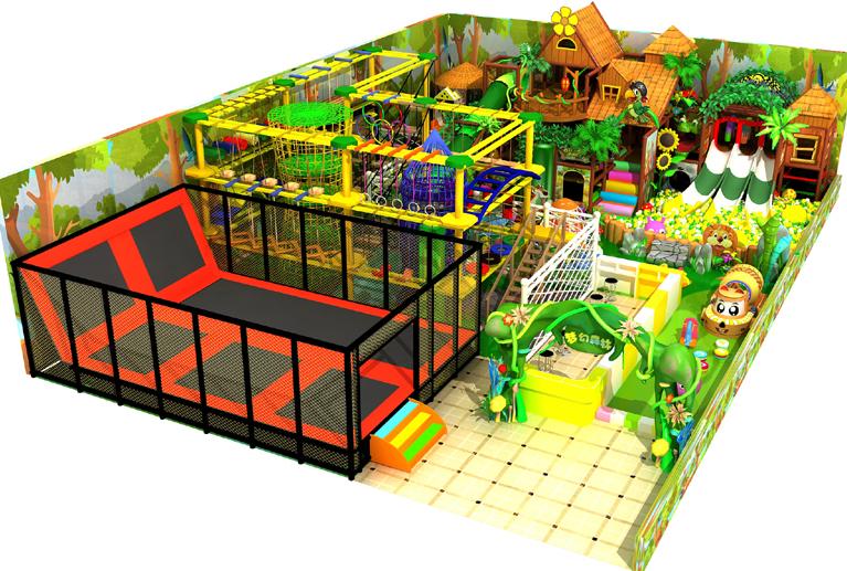 Kids indoor playground equipment project