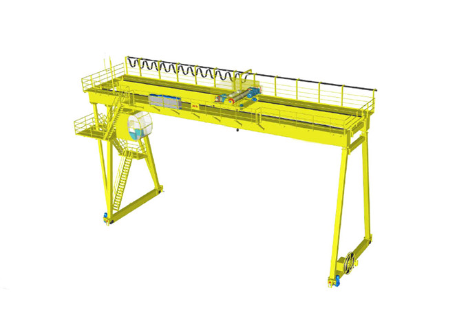 Choose a gantry crane double girder 10 tons