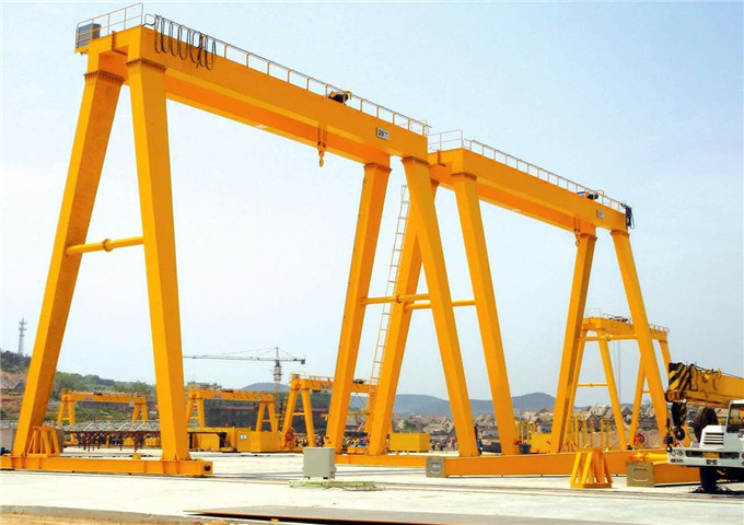 Price double girder gantry cranes 10 tons