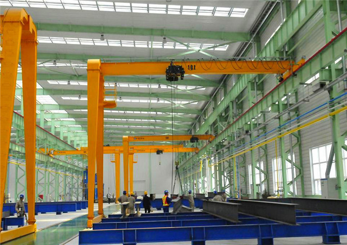 Semi-gantry crane price