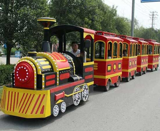 Large carnival trains